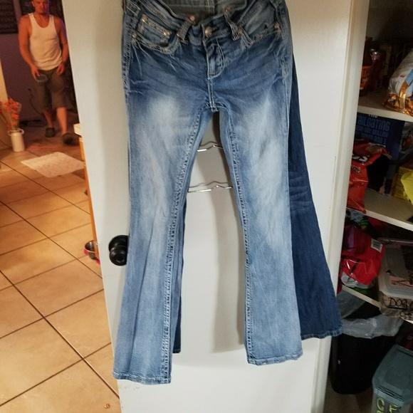 04ca7a85c9e Girls Size 14 Grace in LA bling pocket jeans